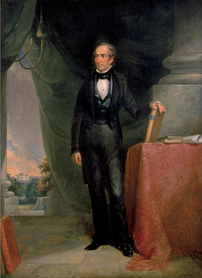 Painting - John Tyler by James Reid Lambdin