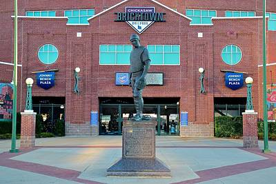 Johnny Bench Okc Print by Frozen in Time Fine Art Photography
