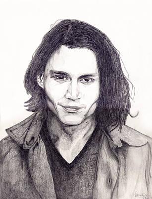 Johnny Depp Mixed Media - Johnny Depp by Debbie McIntyre