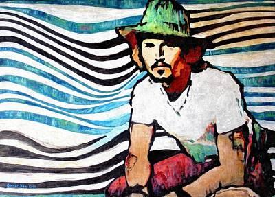 Johnny Depp Painting - Johnny Depp by Oprisor Dan