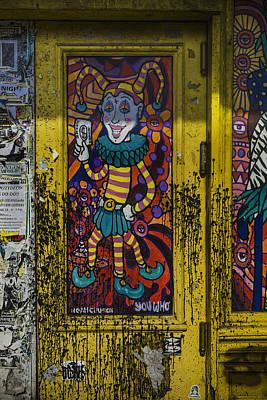 Joker Door New Orleans Print by Garry Gay