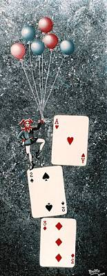 Joker 3 Print by Graciela Bello