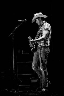 Jon Pardi Guitar 3 Print by Mike Burgquist