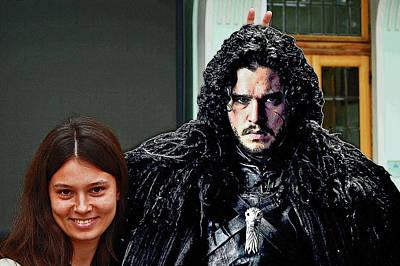 Jon Snow. Do Not Worry, Be Happy. Original by Andy Za