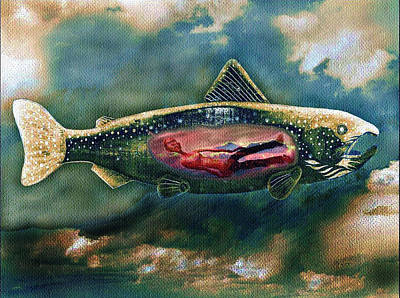Jonah Digital Art - Jonah by Cedrico Fernandez