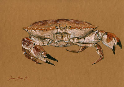 Jonah Painting - Jonah Crab by Juan  Bosco