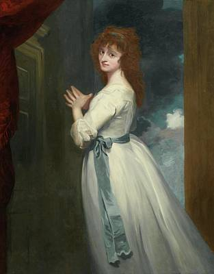 Romney Painting - Jordan As Peggy In The Country Girl by George Romney