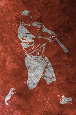 Houston Astros Painting - Jose Altuve Houston Astros Art by Joe Hamilton