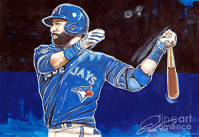 Jose Bautista Original by Dave Olsen