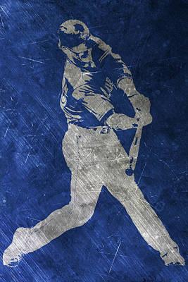 Josh Painting - Josh Donaldson Toronto Blue Jays Art by Joe Hamilton