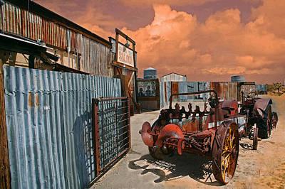 Old Town Digital Art - Joshua Tree Saloon by Jeff Burgess
