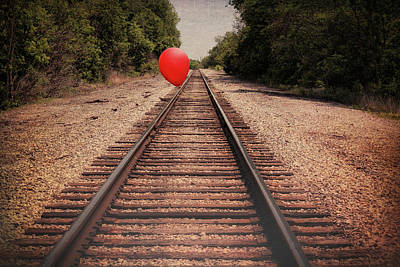 Red Balloons Photograph - Journey by Tom Mc Nemar