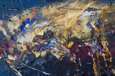 Visceral Mixed Media - Journey1through4 by Pearse Gilmore