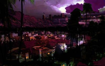 Journeys Through An Innocent Night Original by Paul Sutcliffe