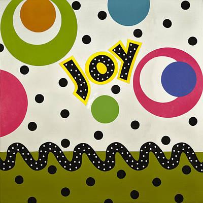 Joy Mixed Media - Joy by Gloria Rothrock