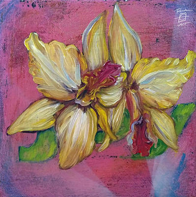 Painting - Joy Orchids by Andrea LaHue