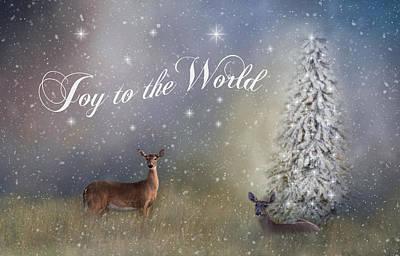 Joy To The World Print by Kim Hojnacki