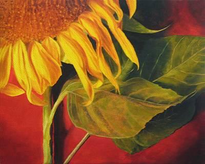Sun Painting - Joy's Sunflower by Marina Petro