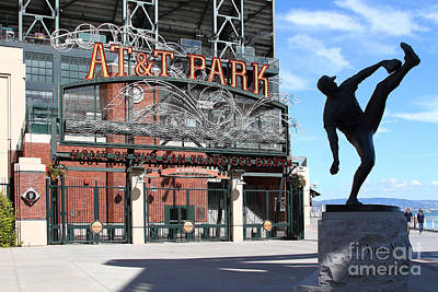 Juan Marichal At San Francisco Att Park . 7d7639 Print by Wingsdomain Art and Photography