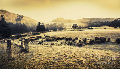 Judbury Winter Panorama Print by Jorgo Photography - Wall Art Gallery