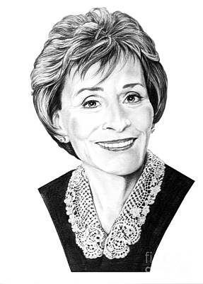Judge Judith Sheindlin Print by Murphy Elliott