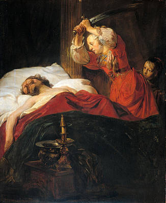 Judith Painting - Judith And Holofernes by Jan de Bray