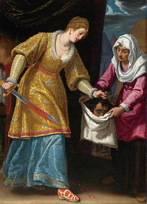 Judith Painting - Judith And Holofernes by Matteo Rosselli