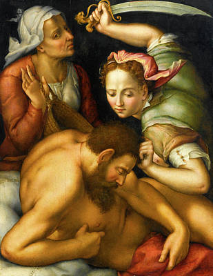 Judith Painting - Judith And Holofernes by Pier Francesco Foschi