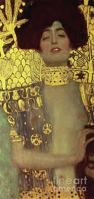 1918 Painting - Judith by Gustav Klimt