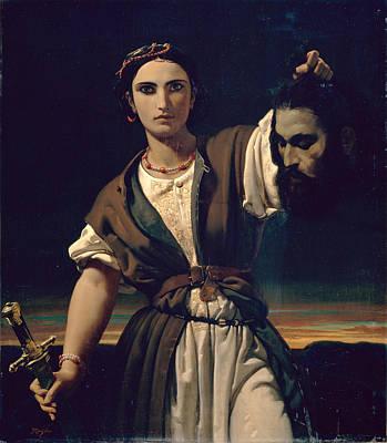 Painting - Judith by Jules-Claude Ziegler