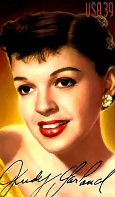 Judy Garland Painting - Judy Garland by Lanjee Chee