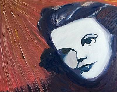 Judy Garland Painting - Judy Garland Pop Art  by Kimberly A P