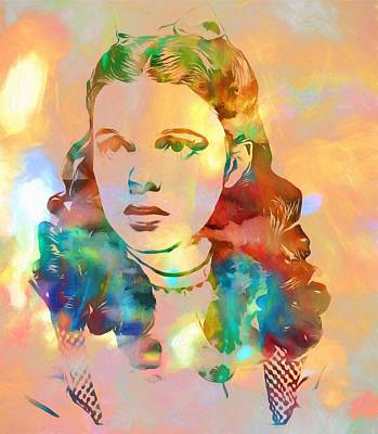 Judy Garland Tribute Print by Dan Sproul