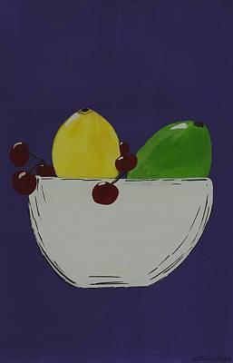 Juicy Fruit Print by Katie Slaby