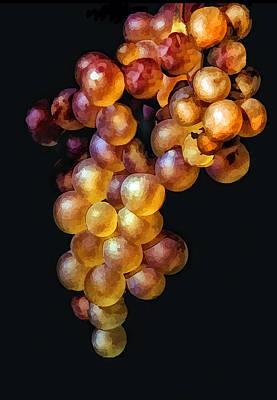 Vineyard Digital Art - Juicy by Lynn Andrews