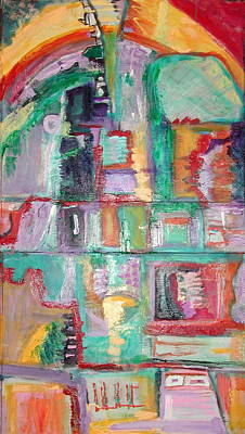 Jukebox Painting - Jukebox Journey by Charli Leniston