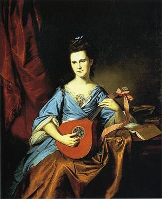 Peale Painting - Julia Stockton by Celestial Images