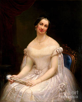 Julia Tyler, First Lady Print by Science Source
