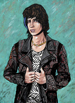 Painting - Julian Casablancas by Sarah Crumpler