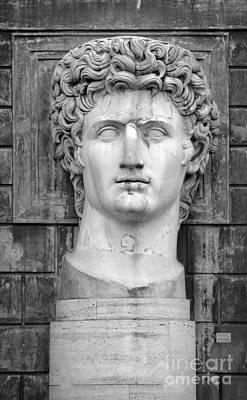 Julius Caesar At Vatican Museums Print by Stefano Senise