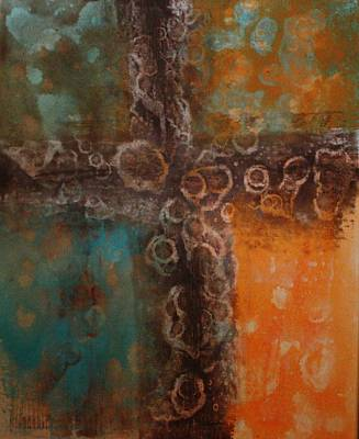 Prime Mixed Media - Cross by William Hartill