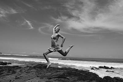 Jumping Print by Cesar Marino