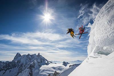 Jumping Legends Print by Tristan Shu