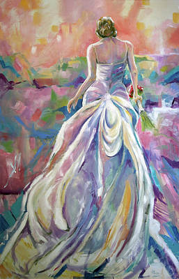 Painting - June Bride by Laurie Pace