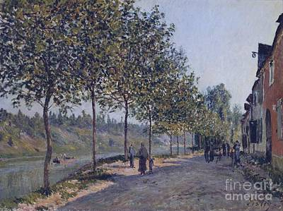 Morning Painting - June Morning In Saint-mammes by Celestial Images