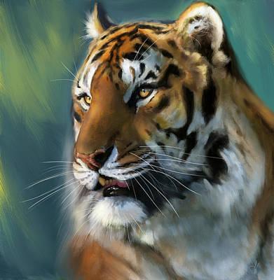 Jungle Emperor Print by Arie Van der Wijst