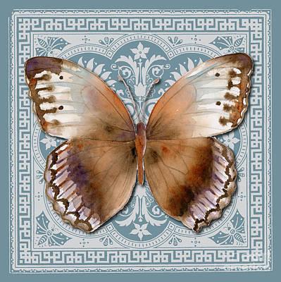 Jungle Queen Butterfly Design Print by Amy Kirkpatrick