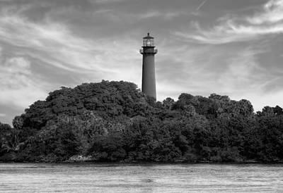 Jupiter Inlet Lighthouse - 2 Print by Frank J Benz