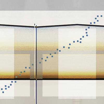 Chart Digital Art - Just A Little Off Course by Carol Leigh