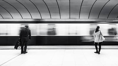 Underground Photograph - Just Before Leaving by Gerard Jonkman